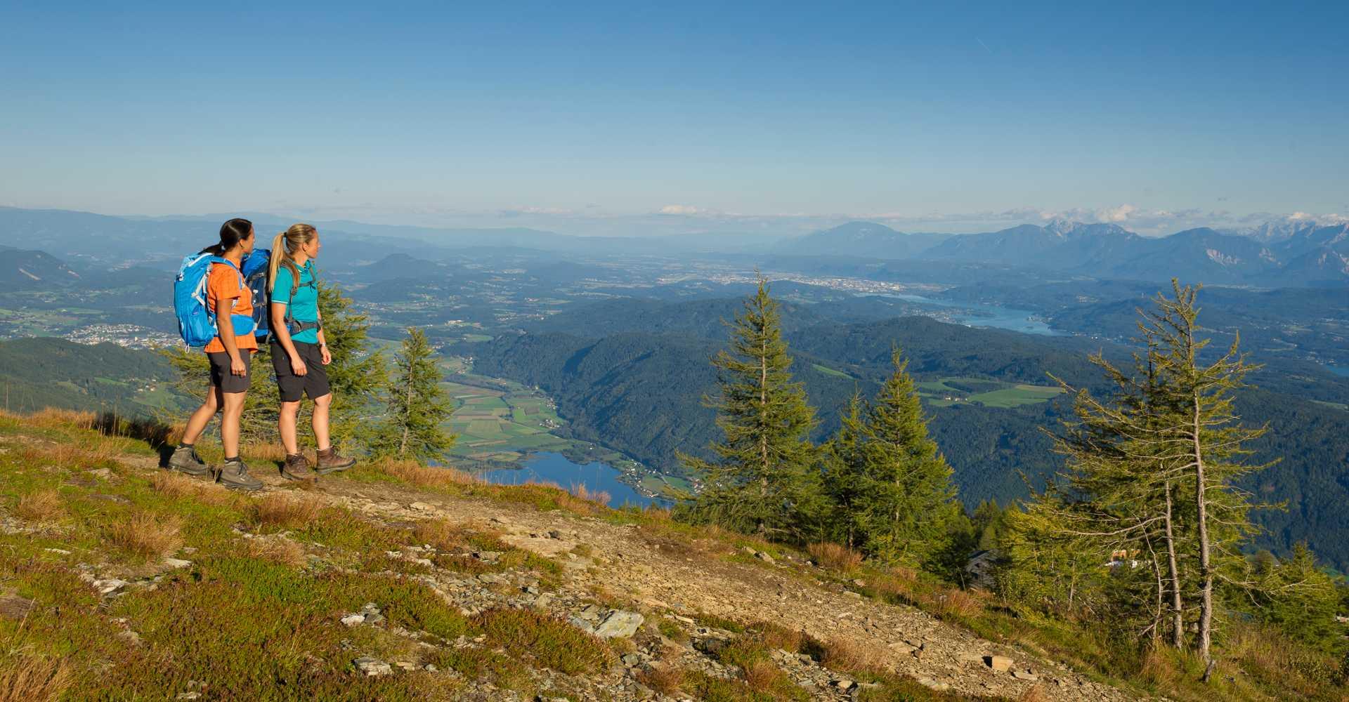 Die Gerlitzen Alpe im Sommer.